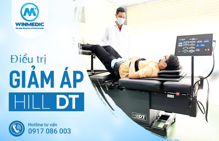Điều trị giảm áp hill DT