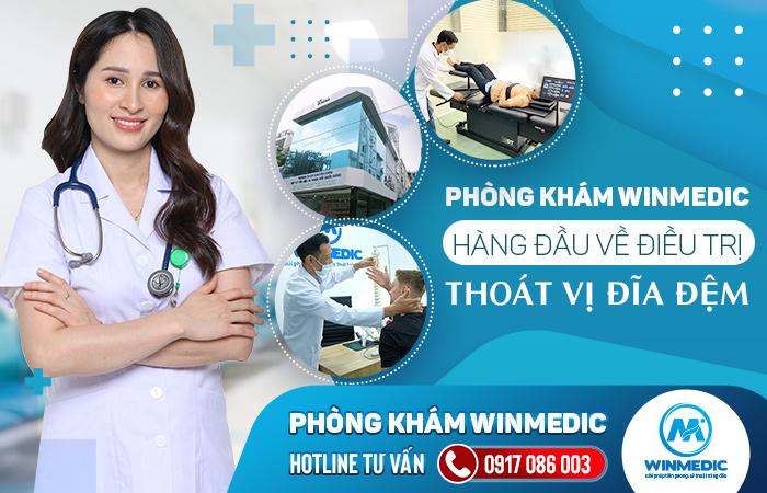 Winmedic tiên phong điều trị thoát vị đĩa đệm số 1 tại TPHCM