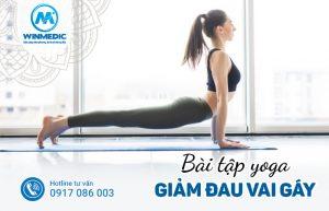 Bài tập Yoga giảm đau vai gáy