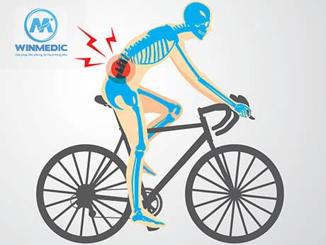 Chú ý tư thế đạp xe