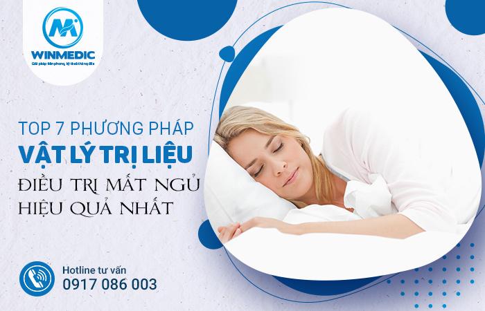 Vật lý trị liệu điều trị mất ngủ