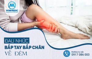 Đau nhức bắp tay bắp chân về đêm